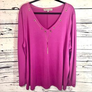 NWT Absolutely Famous Women's Top Size 2X